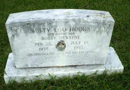 HOOKS, BETTY LOU - Greene County, Arkansas | BETTY LOU HOOKS - Arkansas Gravestone Photos