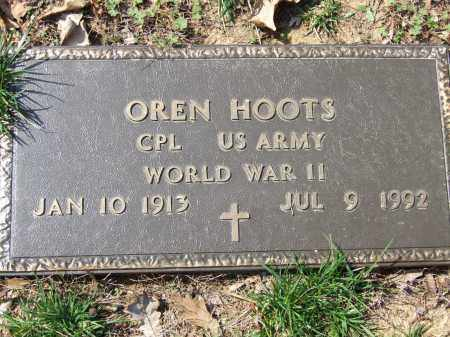 HOOTS (VETERAN WWII), OREN - Greene County, Arkansas | OREN HOOTS (VETERAN WWII) - Arkansas Gravestone Photos