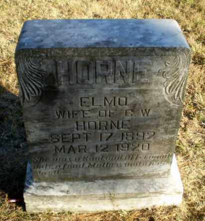 HORNE, ELMO - Greene County, Arkansas | ELMO HORNE - Arkansas Gravestone Photos