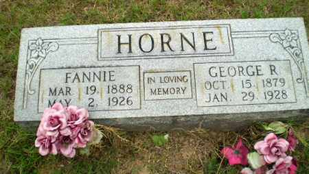 HORNE, FANNIE - Greene County, Arkansas | FANNIE HORNE - Arkansas Gravestone Photos