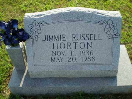 HORTON, JIMMIE RUSSELL - Greene County, Arkansas | JIMMIE RUSSELL HORTON - Arkansas Gravestone Photos
