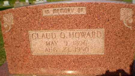 HOWARD, CLAUD O - Greene County, Arkansas | CLAUD O HOWARD - Arkansas Gravestone Photos
