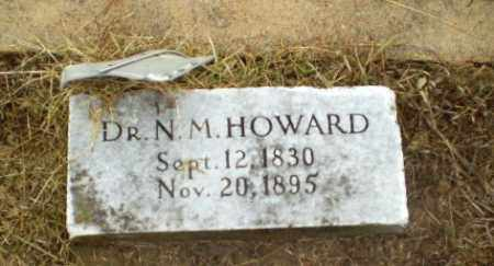 HOWARD, DR, N.M. - Greene County, Arkansas | N.M. HOWARD, DR - Arkansas Gravestone Photos