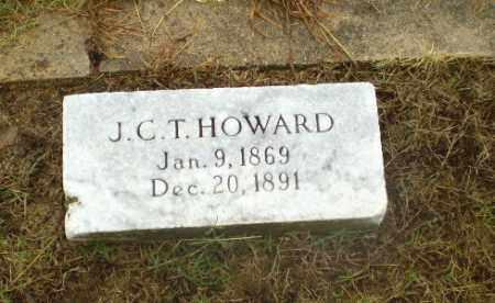 HOWARD, J.C.T. - Greene County, Arkansas | J.C.T. HOWARD - Arkansas Gravestone Photos