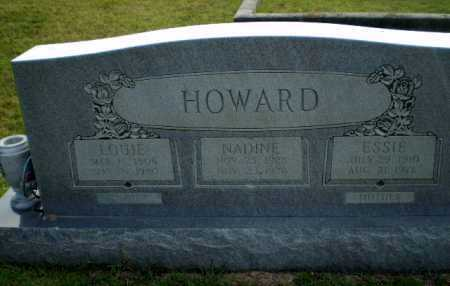 HOWARD, ESSIE - Greene County, Arkansas | ESSIE HOWARD - Arkansas Gravestone Photos