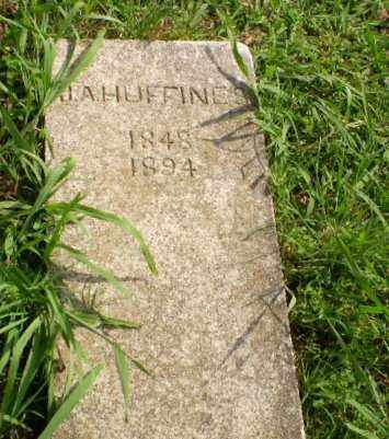 HUFFINE, J.A. - Greene County, Arkansas | J.A. HUFFINE - Arkansas Gravestone Photos