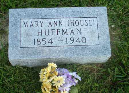 HOUSE HUFFMAN, MARY ANN - Greene County, Arkansas | MARY ANN HOUSE HUFFMAN - Arkansas Gravestone Photos