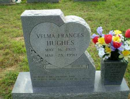 HUGHES, VELMA FRANCES - Greene County, Arkansas | VELMA FRANCES HUGHES - Arkansas Gravestone Photos