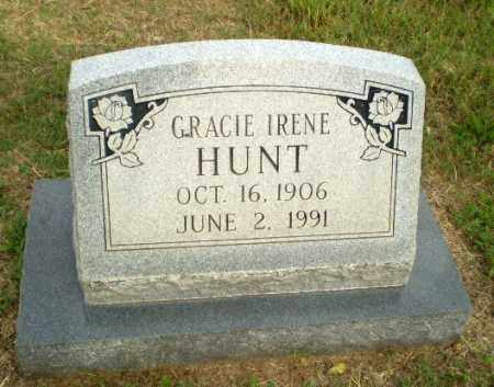 HUNT, GRACIE IRENE - Greene County, Arkansas | GRACIE IRENE HUNT - Arkansas Gravestone Photos