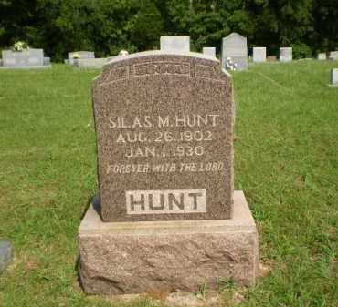 HUNT, SILAS M - Greene County, Arkansas | SILAS M HUNT - Arkansas Gravestone Photos