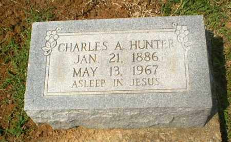 HUNTER, CHARLES A - Greene County, Arkansas | CHARLES A HUNTER - Arkansas Gravestone Photos