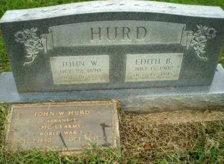 HURD, EDITH B - Greene County, Arkansas | EDITH B HURD - Arkansas Gravestone Photos