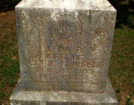 HURST, LENA B - Greene County, Arkansas | LENA B HURST - Arkansas Gravestone Photos
