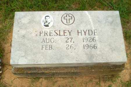 HYDE, PRESLEY - Greene County, Arkansas | PRESLEY HYDE - Arkansas Gravestone Photos