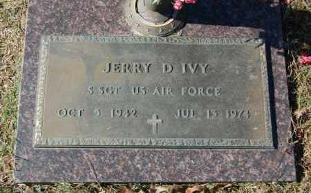 IVY (VETERAN), JERRY D. - Greene County, Arkansas | JERRY D. IVY (VETERAN) - Arkansas Gravestone Photos