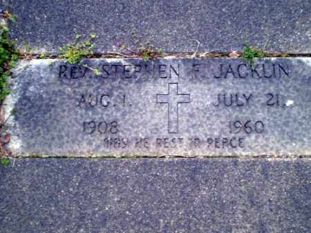 JACKLIN, STEPHEN F. - Greene County, Arkansas   STEPHEN F. JACKLIN - Arkansas Gravestone Photos