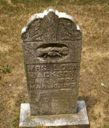 JACKSON, MRS, L.OLA - Greene County, Arkansas | L.OLA JACKSON, MRS - Arkansas Gravestone Photos