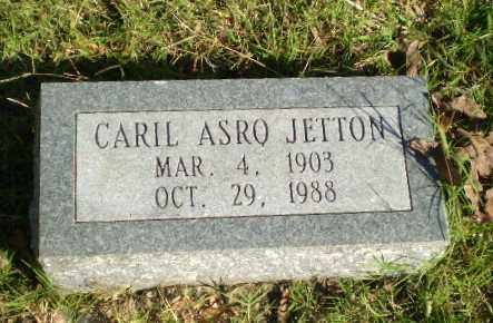 JETTON, CARIL ASRO - Greene County, Arkansas | CARIL ASRO JETTON - Arkansas Gravestone Photos