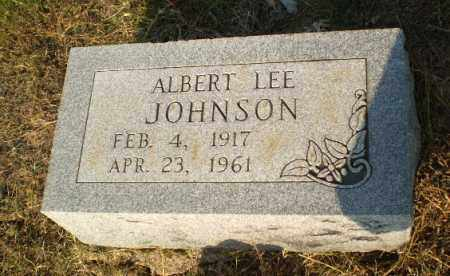 JOHNSON, ALBERT LEE - Greene County, Arkansas | ALBERT LEE JOHNSON - Arkansas Gravestone Photos