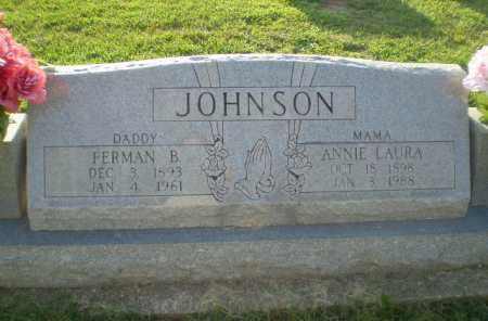 JOHNSON, FERMAN B - Greene County, Arkansas | FERMAN B JOHNSON - Arkansas Gravestone Photos