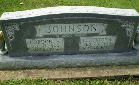 JOHNSON, BEATRICE L - Greene County, Arkansas | BEATRICE L JOHNSON - Arkansas Gravestone Photos