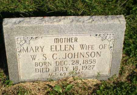 JOHNSON, MARY ELLEN - Greene County, Arkansas | MARY ELLEN JOHNSON - Arkansas Gravestone Photos