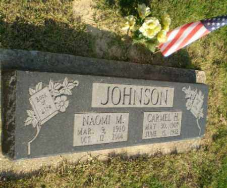 JOHNSON (VETERAN WWII), CARMEL H - Greene County, Arkansas | CARMEL H JOHNSON (VETERAN WWII) - Arkansas Gravestone Photos