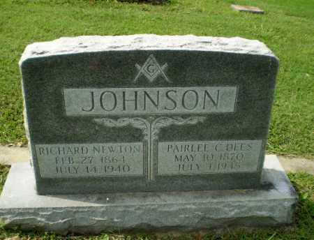 JOHNSON, RICHARD NEWTON - Greene County, Arkansas | RICHARD NEWTON JOHNSON - Arkansas Gravestone Photos