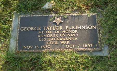 JOHNSON (VETERAN UNION), GEORGE  TAYLOR F - Greene County, Arkansas | GEORGE  TAYLOR F JOHNSON (VETERAN UNION) - Arkansas Gravestone Photos