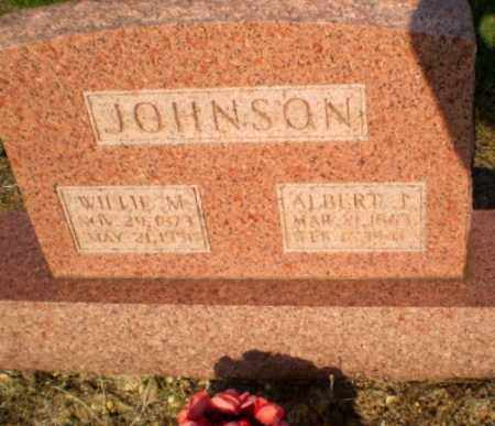 JOHNSON, WILLIE M - Greene County, Arkansas | WILLIE M JOHNSON - Arkansas Gravestone Photos