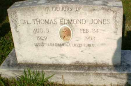 JONES  (VETERAN), THOMAS EDMOND - Greene County, Arkansas | THOMAS EDMOND JONES  (VETERAN) - Arkansas Gravestone Photos