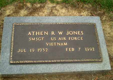 JONES  (VETERAN VIET), ATHEN R W - Greene County, Arkansas | ATHEN R W JONES  (VETERAN VIET) - Arkansas Gravestone Photos