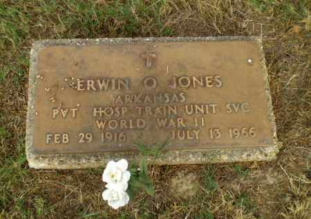 JONES  (VETERAN WWII), ERWIN O - Greene County, Arkansas   ERWIN O JONES  (VETERAN WWII) - Arkansas Gravestone Photos