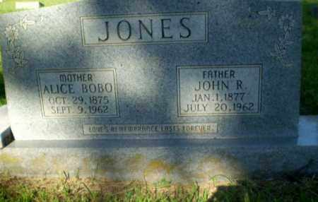 BOBO JONES, ALICE - Greene County, Arkansas | ALICE BOBO JONES - Arkansas Gravestone Photos