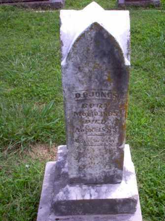 JONES, D.P. - Greene County, Arkansas   D.P. JONES - Arkansas Gravestone Photos