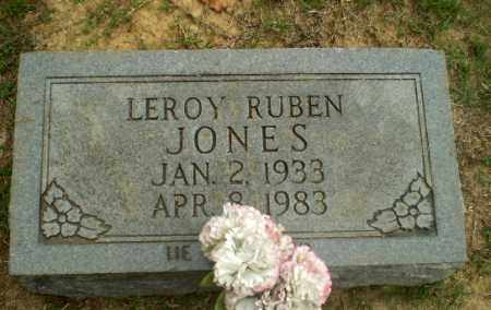 JONES, LEROY RUBEN - Greene County, Arkansas | LEROY RUBEN JONES - Arkansas Gravestone Photos
