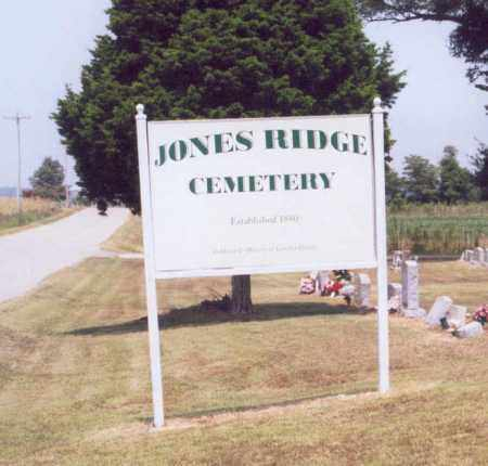 *JONES RIDGE CEMETERY, ENTRANCE - Greene County, Arkansas | ENTRANCE *JONES RIDGE CEMETERY - Arkansas Gravestone Photos