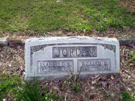 JORDAN, ISABELLE K - Greene County, Arkansas | ISABELLE K JORDAN - Arkansas Gravestone Photos