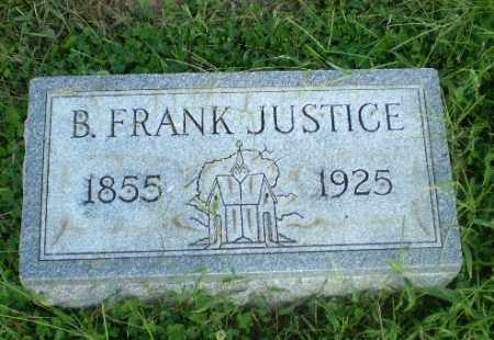 JUSTICE, B. FRANK - Greene County, Arkansas | B. FRANK JUSTICE - Arkansas Gravestone Photos