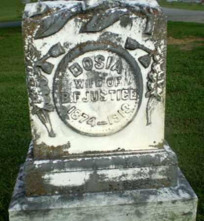 JUSTICE, DOSIA - Greene County, Arkansas | DOSIA JUSTICE - Arkansas Gravestone Photos