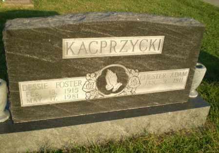 FOSTER KACPRZYCKI, DESSIE - Greene County, Arkansas | DESSIE FOSTER KACPRZYCKI - Arkansas Gravestone Photos