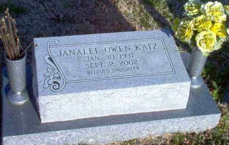 KATZ, JANALEE - Greene County, Arkansas | JANALEE KATZ - Arkansas Gravestone Photos