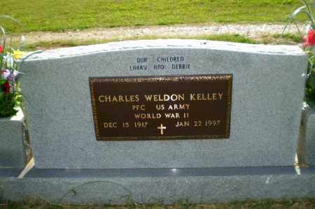 KELLEY  (VETERAN WWII), CHARLES WELDON - Greene County, Arkansas | CHARLES WELDON KELLEY  (VETERAN WWII) - Arkansas Gravestone Photos
