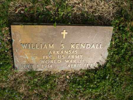 KENDALL  (VETERAN WWII), WILLIAM S. - Greene County, Arkansas | WILLIAM S. KENDALL  (VETERAN WWII) - Arkansas Gravestone Photos