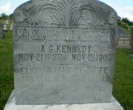 KENNEDY, A.G. - Greene County, Arkansas | A.G. KENNEDY - Arkansas Gravestone Photos