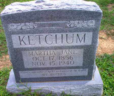 KETCHUM, MARTHA JANE - Greene County, Arkansas | MARTHA JANE KETCHUM - Arkansas Gravestone Photos