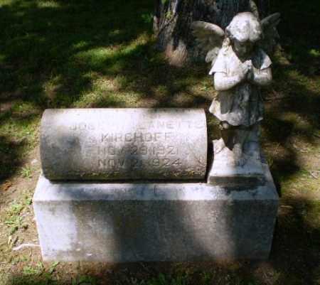KIRCHOFF, MARTHA  ELIZABETH - Greene County, Arkansas | MARTHA  ELIZABETH KIRCHOFF - Arkansas Gravestone Photos