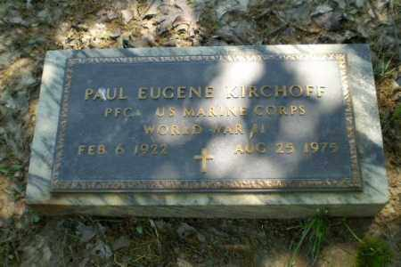 KIRCHOFF (VETERAN WWII), PAUL - Greene County, Arkansas | PAUL KIRCHOFF (VETERAN WWII) - Arkansas Gravestone Photos