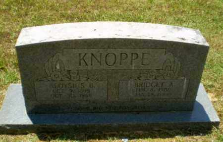 KNOPPE, ALOYSIUS B - Greene County, Arkansas | ALOYSIUS B KNOPPE - Arkansas Gravestone Photos