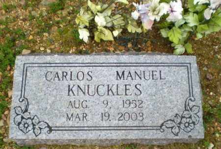 KNUCKLES, CARLOS MANUEL - Greene County, Arkansas | CARLOS MANUEL KNUCKLES - Arkansas Gravestone Photos